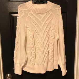 loft chunky sweater XL